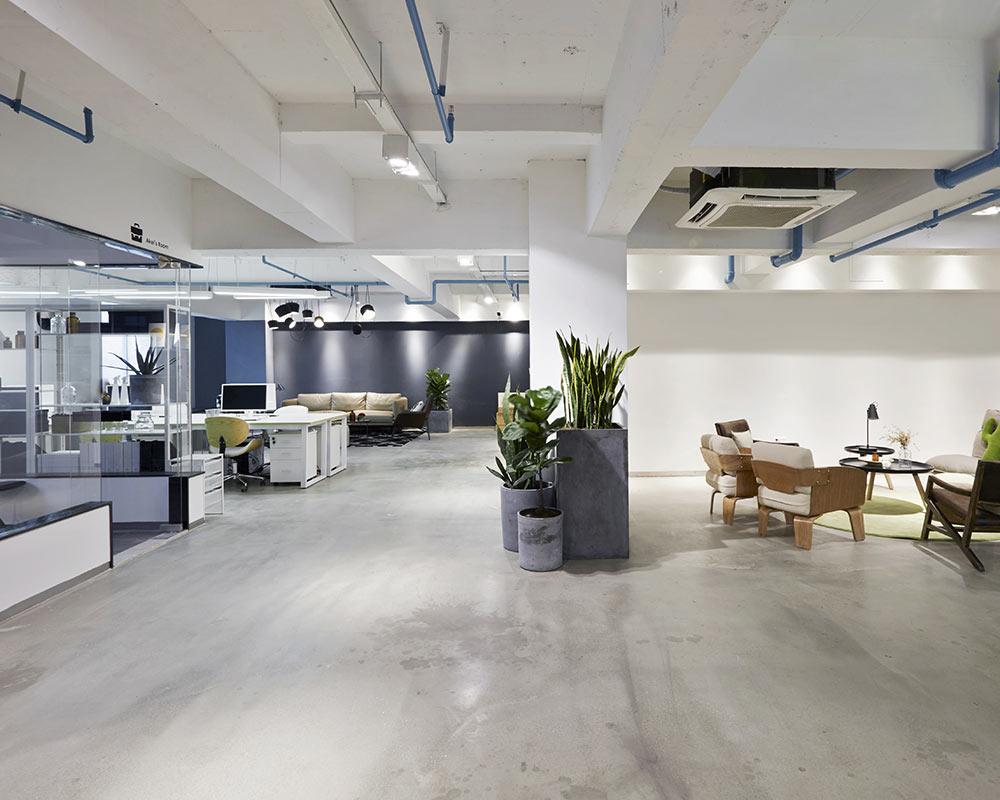 interior of modern office kirkland wa